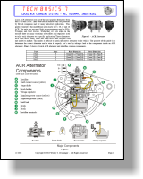era technical library tech basics rh electricalrebuilders org car alternator electrical diagram lucas 15 acr alternator wiring diagram